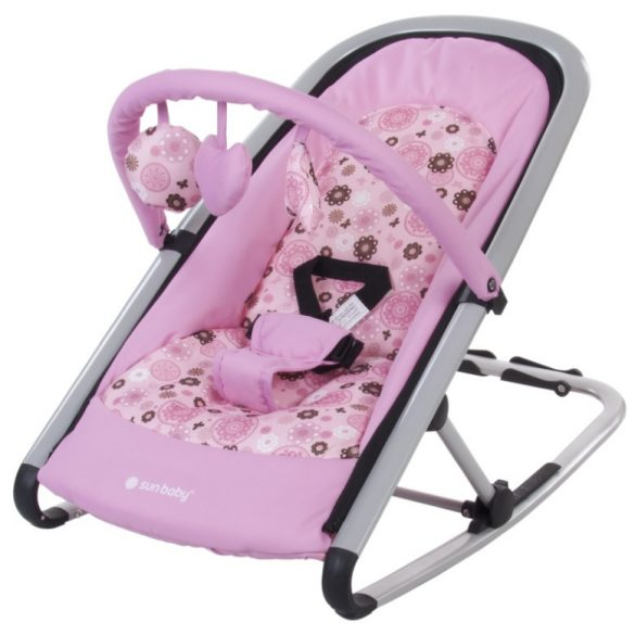Sun Baby Komfi pihenőszék - rózsaszín !! KIFUTÓ !!