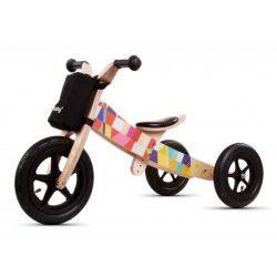 Sun Baby 2az1-ben fa futóbicikli és tricikli - Twist Mosaic
