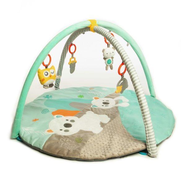 Sun Baby oktatási játszószőnyeg - jegesmaci