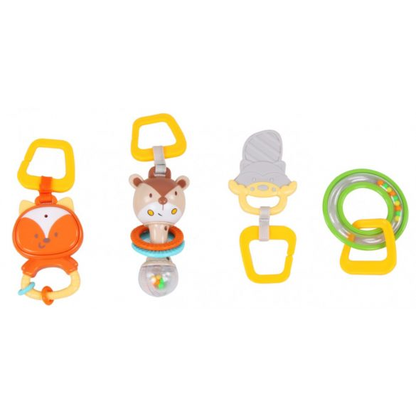 Sun Baby peremes játszószőnyeg - róka