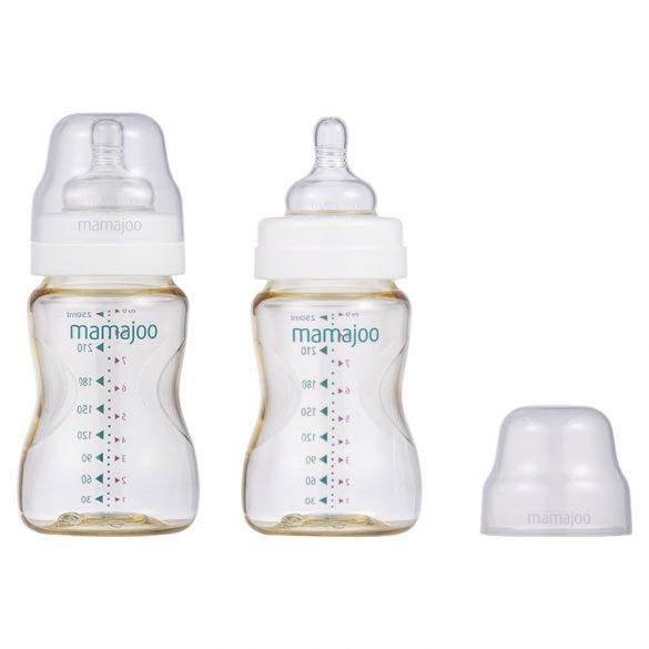 Mamajoo BPA mentes PES Cumisüveg - 2 db - 250 ml - arany