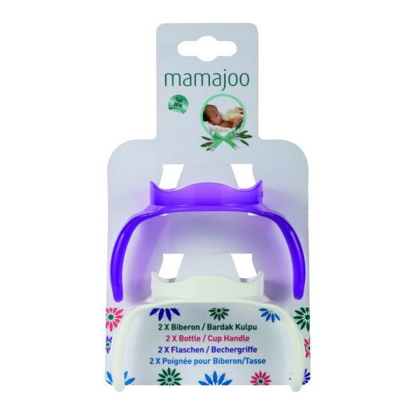 Mamajoo Itatópohár fogantyú - 2 db - lila-fehér