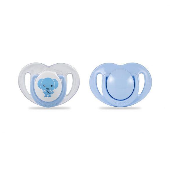 Mamajoo Ortodontikus 2 db-os cumi  12h+  - Kék elefánt