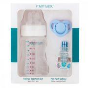 Mamajoo Mini ajándék szett - Kék 250 ml