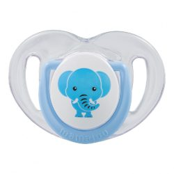 Mamajoo Ortodontikus cumi tárolódobozzal 0+  - Kék elefánt