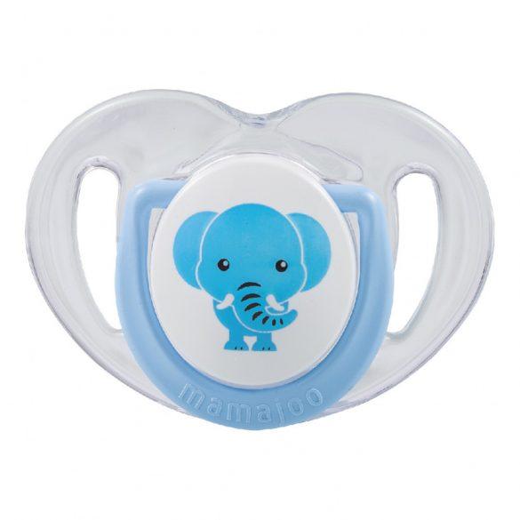 Mamajoo Ortodontikus cumi tárolódobozzal 6h+   - Kék Elefánt