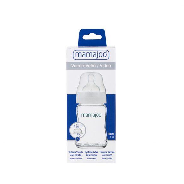 Mamajoo BPA mentes cumisüveg - 180 ml - üveg