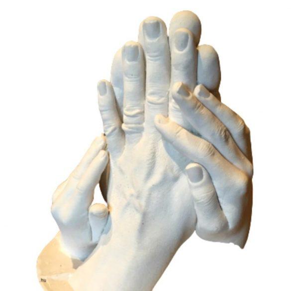 BabyLion 3D szoborkészítő készlet - 2 szobros (Pároknak; Szülő-Gyermek kézszobrokhoz)