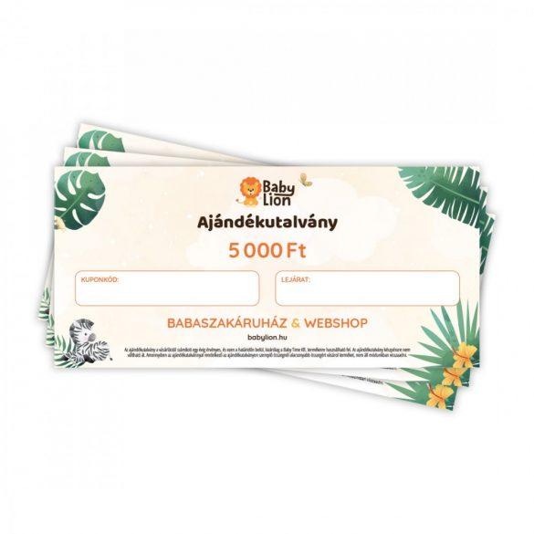 Ajándékutalvány - 5000 Ft.