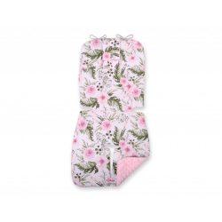BabyLion Prémium babakocsi betét - Rózsaszín virágok