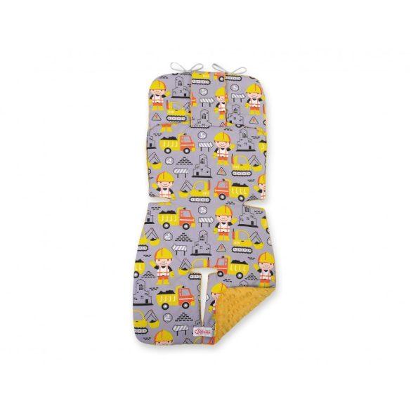 BabyLion Prémium babakocsi betét - Munkagépek - Sárga