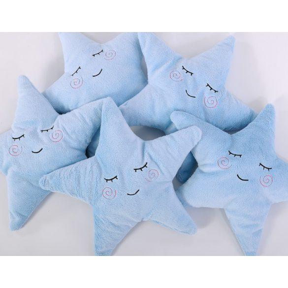 BabyLion Prémium Csillag párna - Kék