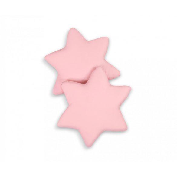 BabyLion Prémium 2 db csillag párna - Púder rózsaszín