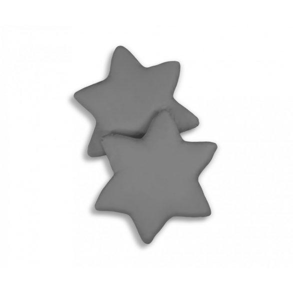 BabyLion Prémium 2 db csillag párna - Sötétszürke
