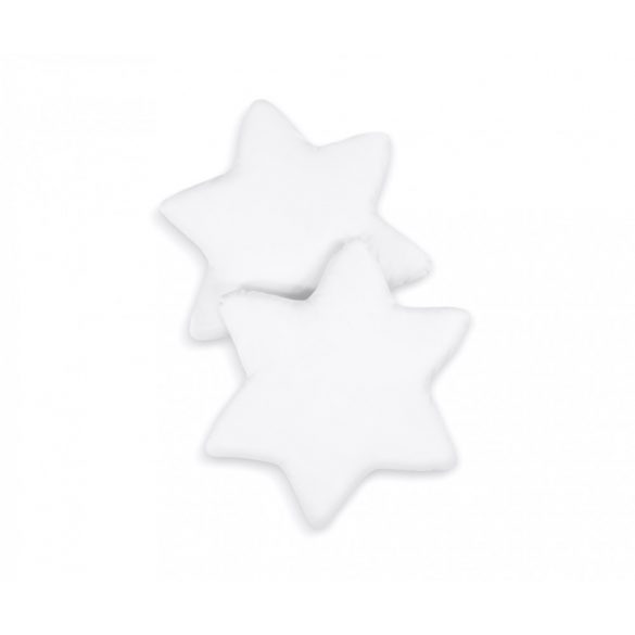 BabyLion Prémium 2 db csillag párna - Fehér