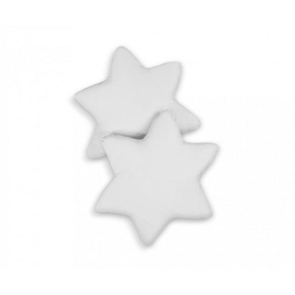 BabyLion Prémium 2 db csillag párna - Szürke
