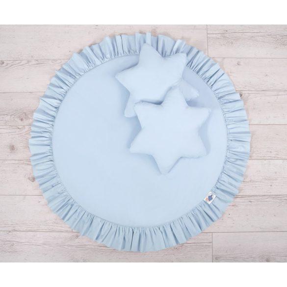 BabyLion Prémium Textil játszószőnyeg - párnákkal - Kék