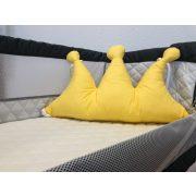 BabyLion Korona alakú párna - Sárga