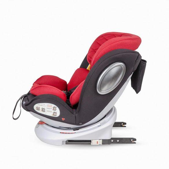 Hapi Ozy 360°-ban forgatható gyerekülés 0-36 kg - Red