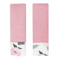 MTT Biztonsági öv védő - Rózsaszín - Rózsaszín virágok