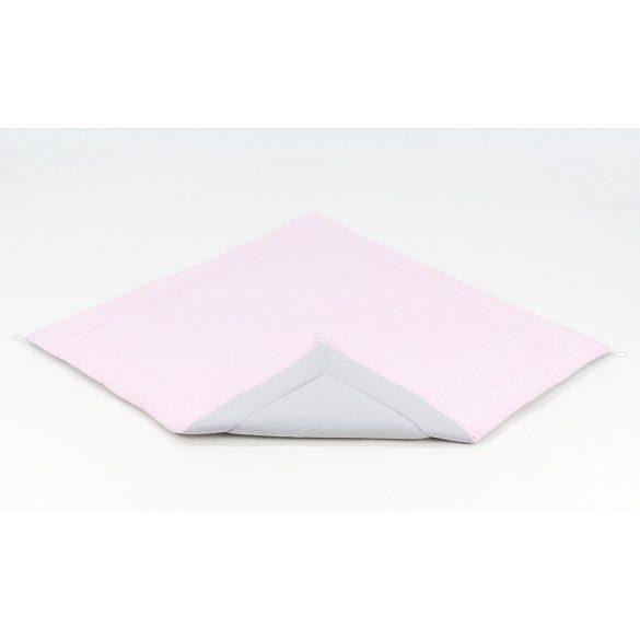 MTT Textil játszószőnyeg 116x116 - Rózsaszín-Szürke