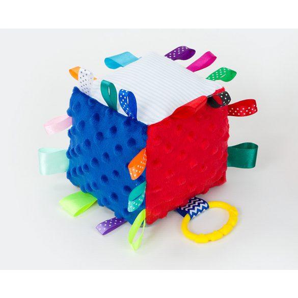 MTT Kocka plüss játék - Piros-kék
