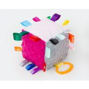 MTT Kocka plüss játék - Pink-szürke