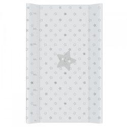 MTT Merev pelenkázó lap 50x70 - Világos szürke - Csillagok