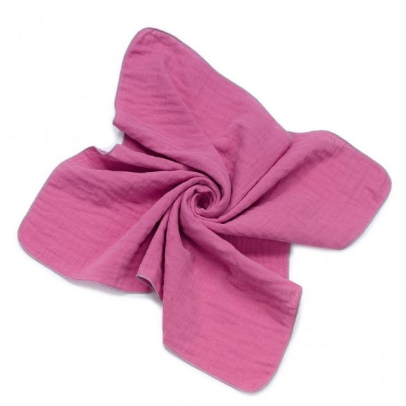 MTT Textil pelenka 2 db - Mályva és szürke