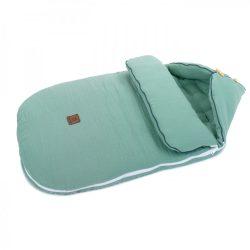 MTT Őszi muszlin bundazsák (0-12 hónapos) - Pasztell zöld