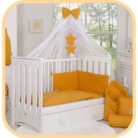 Baba ágynemű és baldachin